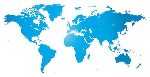 International distribution map Mazton