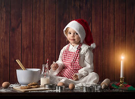 Holiday Session, Christmas, cookies