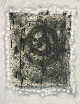 15-Saule spirit-1992-Acrylique et collag