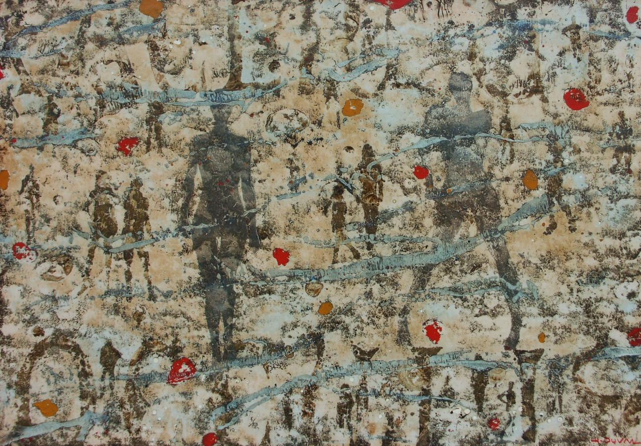 3-Emergents-2009-Huile sur toile-70x100c