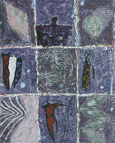 Case par case 20-2002-Acrylique sur toil