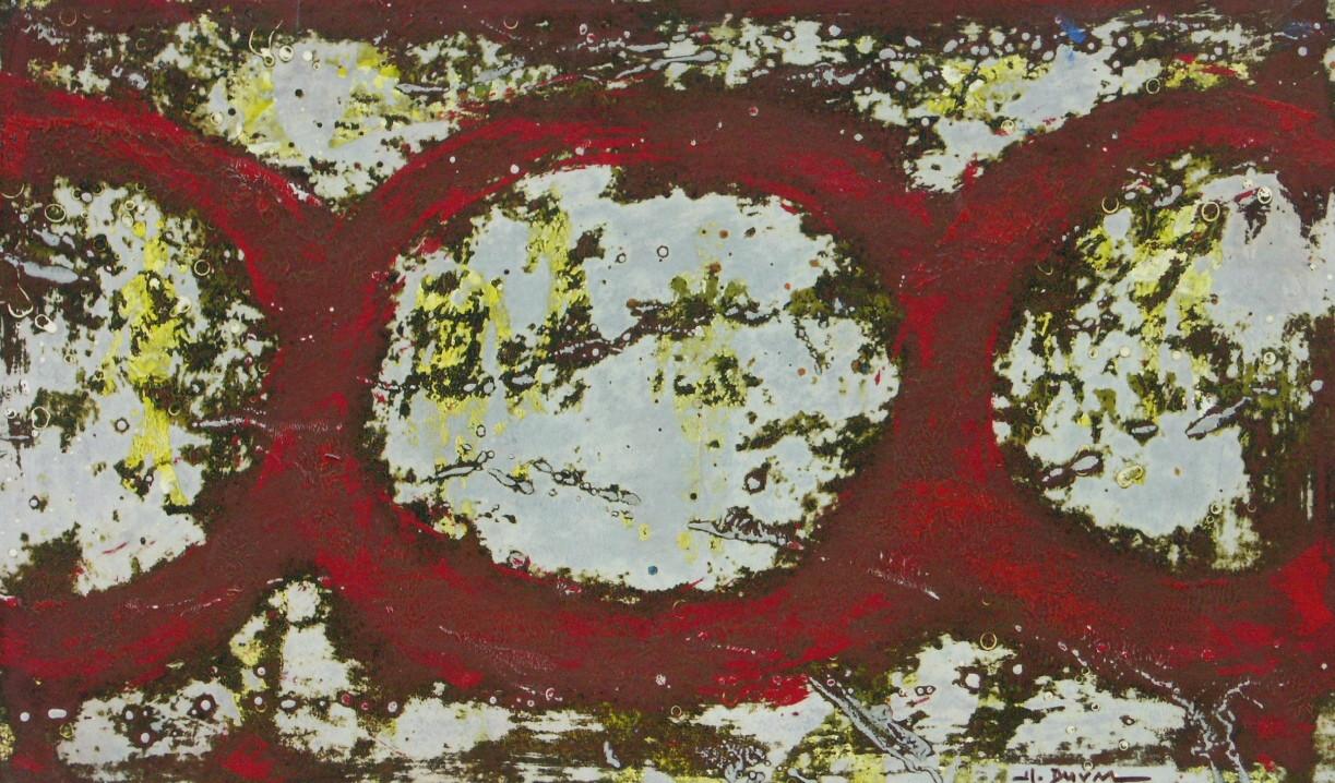 22-Emergents-2010-Huile sur toile-30x50.