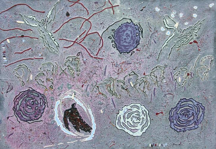 7-Rencontre-2002-Acrylique sur toile-89x