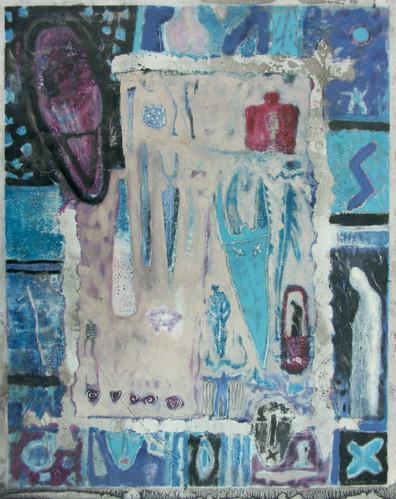 13-Images marginales-1991-Huile sur papi