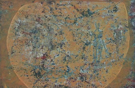 23-Emergents-2011-Huile sur toile-34x50c