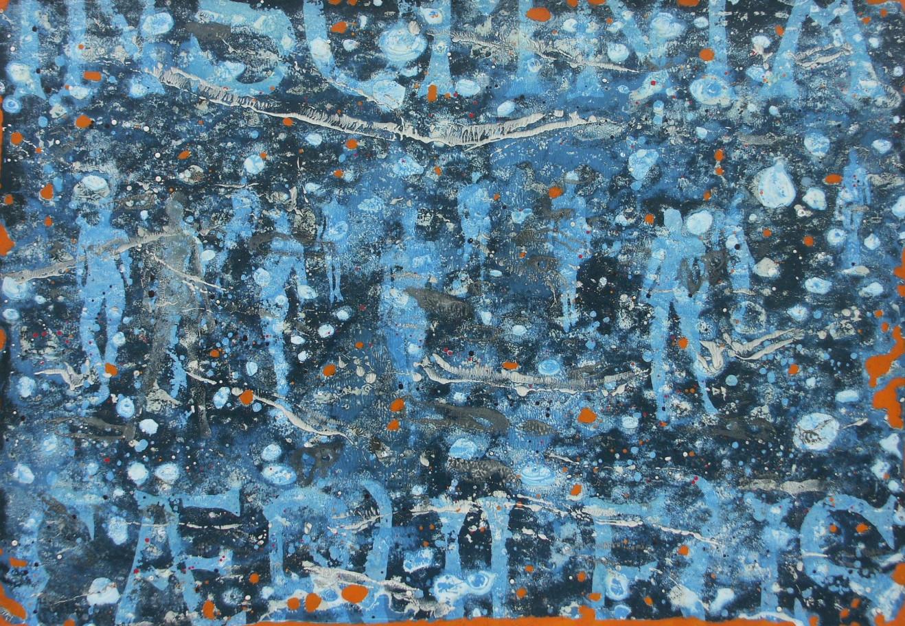 2-Emergents-2009-Huile sur toile-70x100c