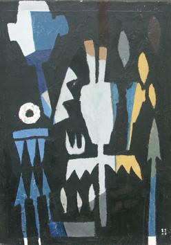1-Nuit de masques-1983-huile sur toile-4