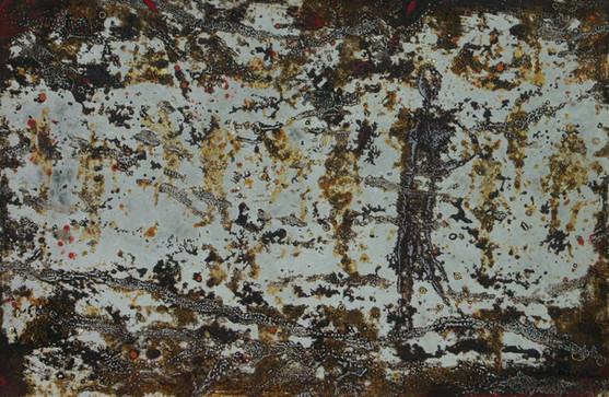 24-Emergents-2012-Huile sur toile-34x50c