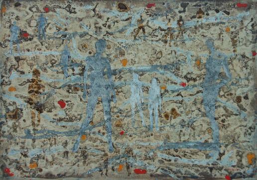 5-Emergents-2009-Huile sur toile-65x92cm