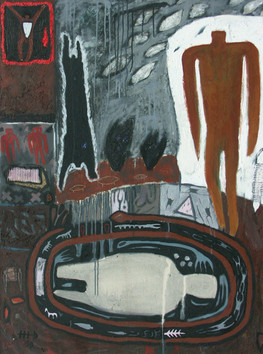 8-Rememberance-1989-Acrylique sur toile-