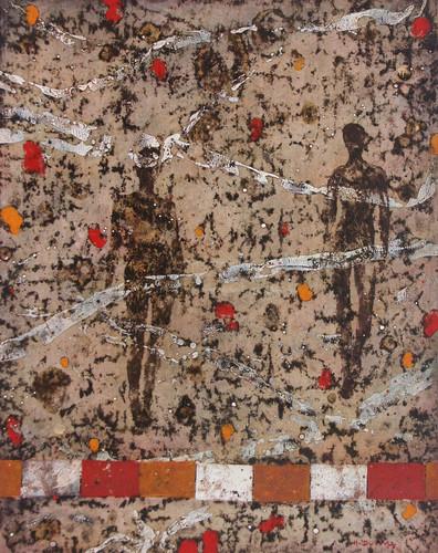 13-Emergents-2011-Huile sur toile-81x65c