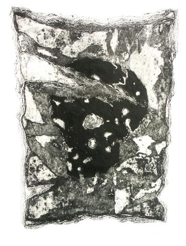 14- Skull - Carborundum et gravure sur c