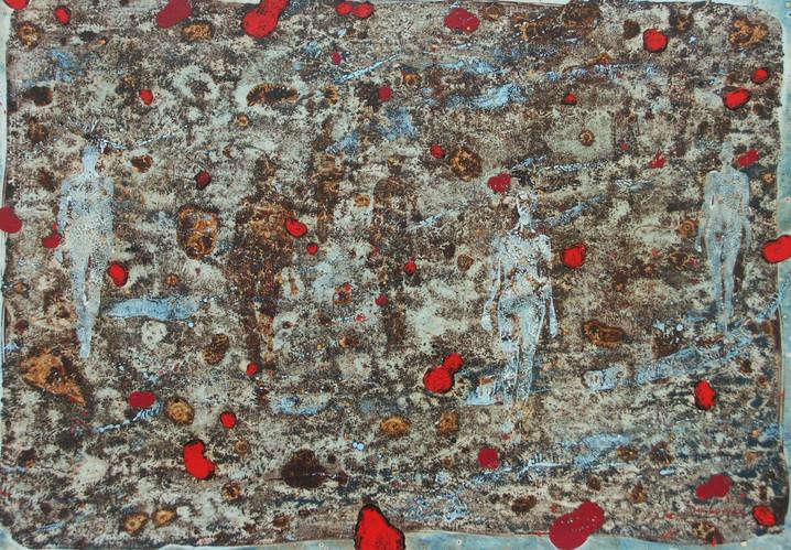 6-Emergents-2015-Huile sur toile-65x92cm