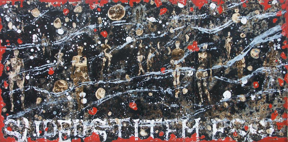 29-Emergents-2011-Huile sur toile-97x195