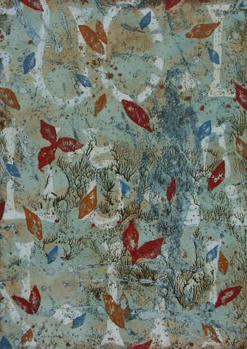 17-Emergent-2009-Huile sur toile-65x46cm