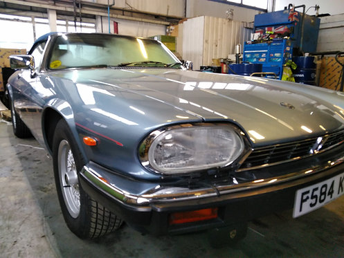 Jaguar XJ-S V12 Sanden Upgrade Kit