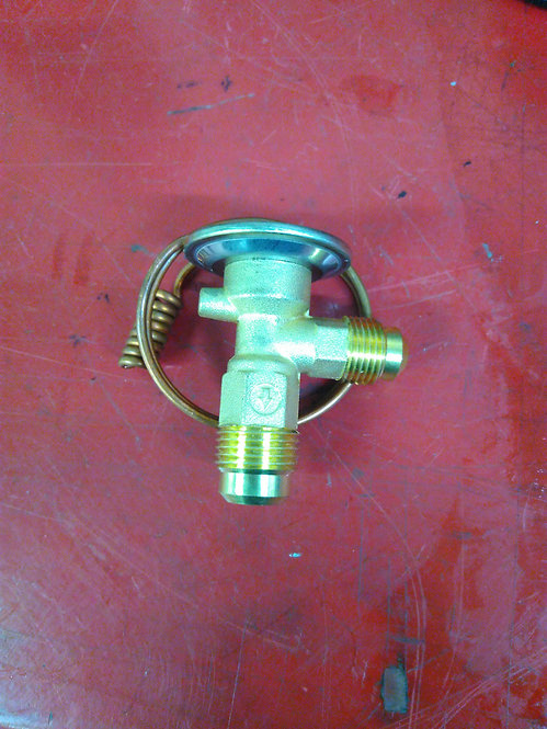 Thermal expansion valve flared