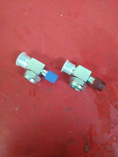 Rotolok service valves O-ring fittings