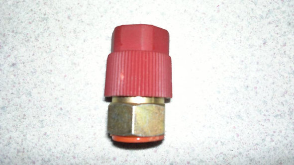 R134a High Side Retro Fit Adapter Straight 5/16 Flare R12 Fittment