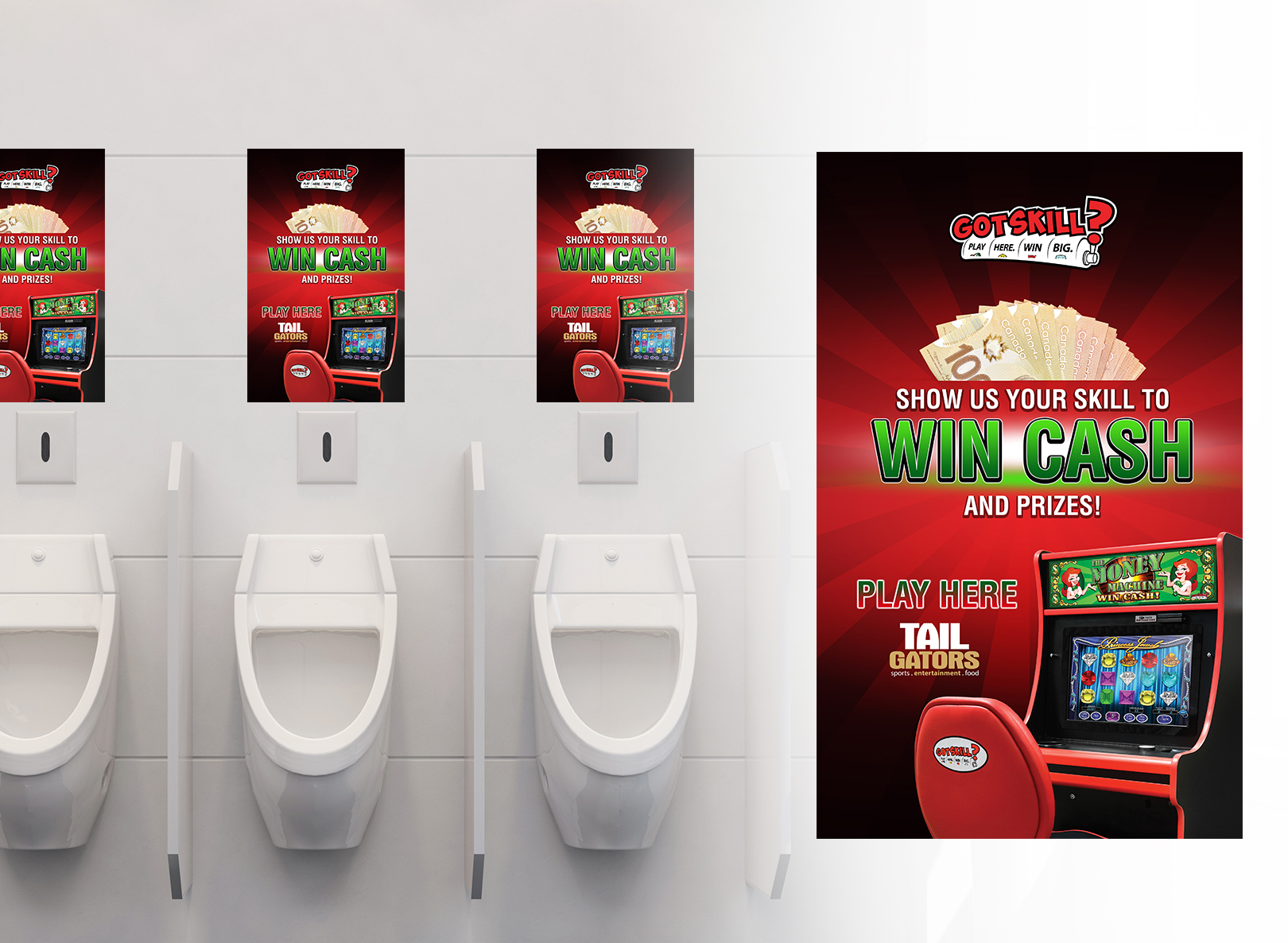 Washroom Poster 11x17