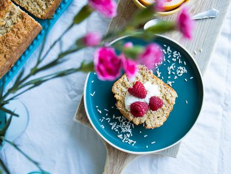 Kokos-limoencake van Anouk