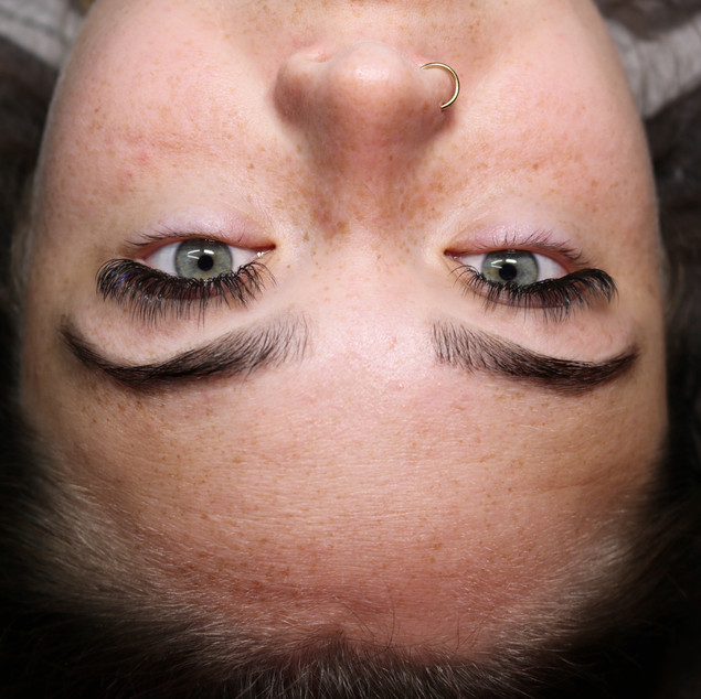 Volume Lashes & Brow wax and tint