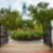 Rose Garden Entrance at Christopher Colu