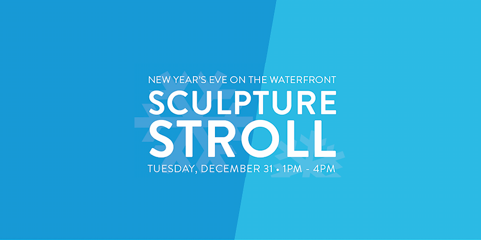 New Year's Eve Ice Sculptures on the Waterfront!