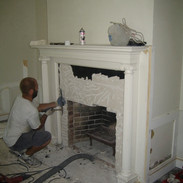 Fireplace modification