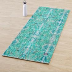original yoga mat artwork