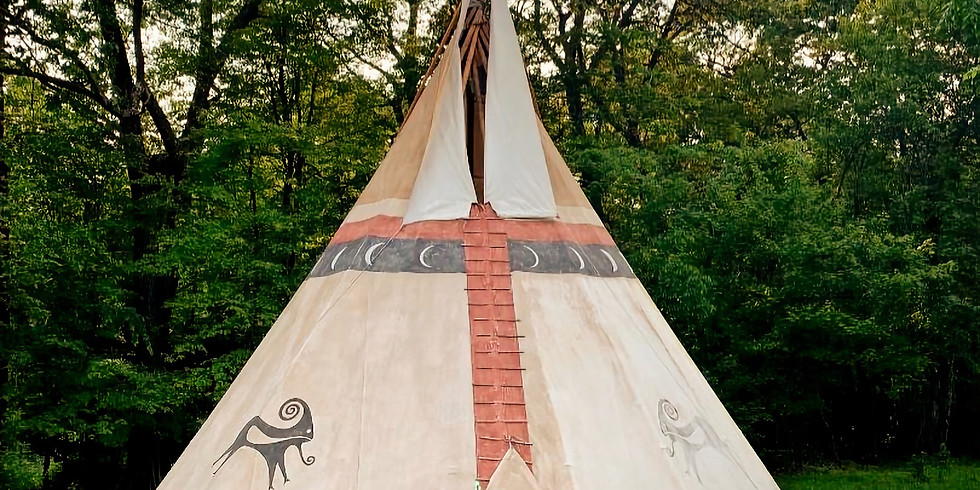 SUNSET Sacred Sound Healing in the Tipi