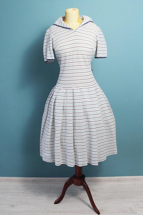 Lata sześćdziesiąte - Eastex sportowa sukienka rozkloszowana