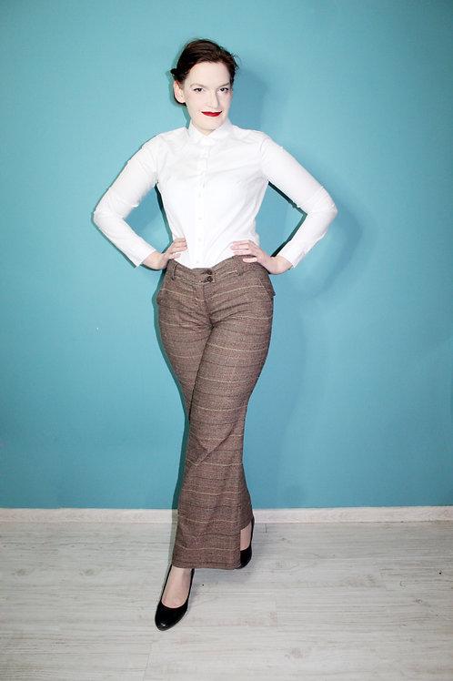 Jak lata siedemdziesiąte - spodnie brązowe