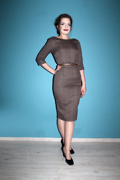 Collectif - sukienka ołówkowa jak lata 1950te Adeline Libra