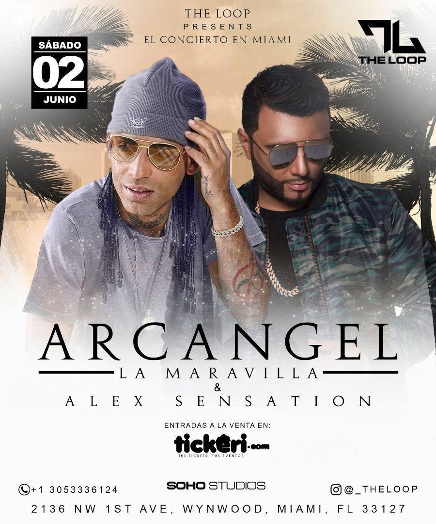 Concierto Arcangel y Alex Sensation