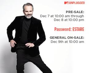 """Pre-sale for Miguel Bose's """"Estaré Tour"""" at the Greek Theatre!"""