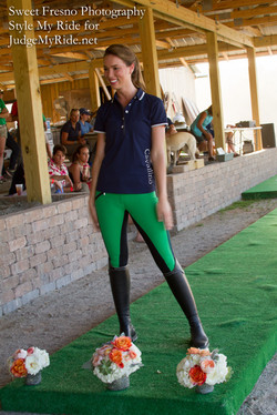 Navy and Kelly Green HKM