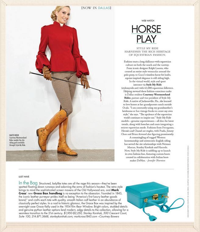 SMR makes Modern Luxury Magazine