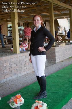 Eventer Sophie David, Wild Horse T&F