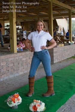 Barrel Racing rider Claudia Shelton