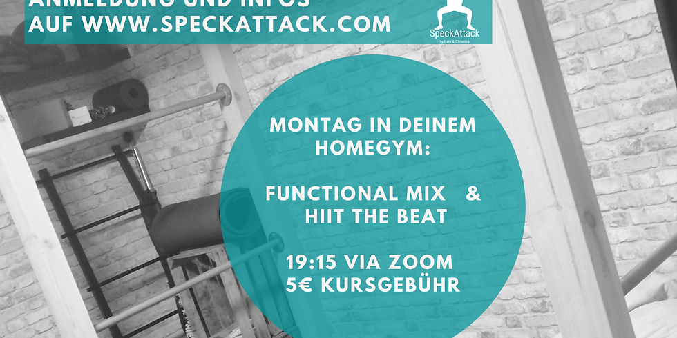 Online Workout - Functional Mix & HIIT the Beat / Trainerin Daniela