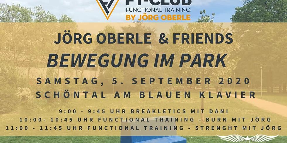 Jörg Oberle & Friends - BEWEGUNG IM PARK