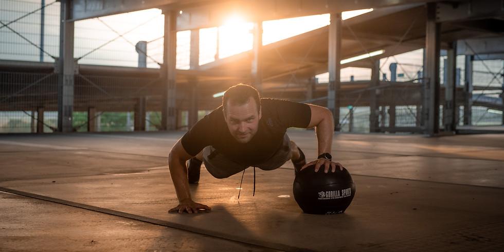 Bewegung im Park - Funktionelles Training mit Sports-Buddy Chris