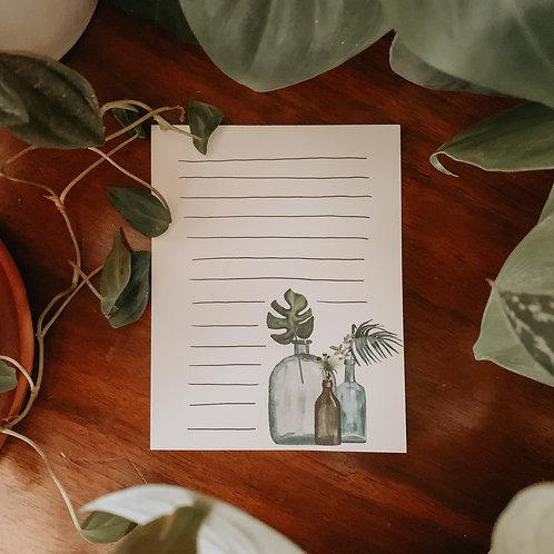 Botanical Notepad