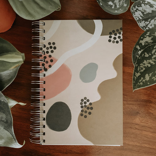 Botanical Themed Notebook