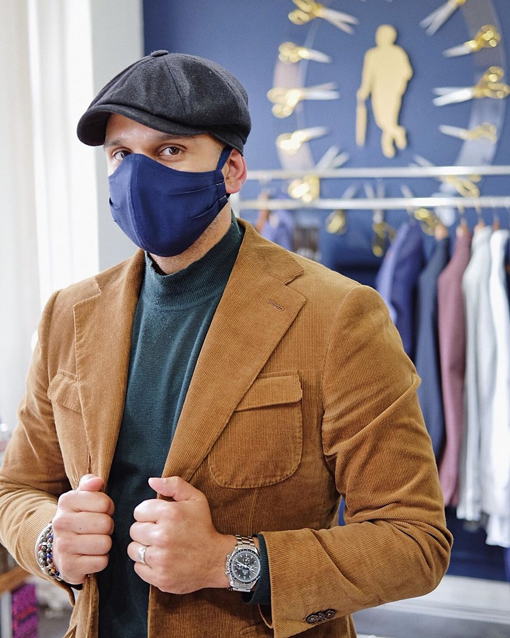 Jason Sarai, Style by Sarai, face mask, face covering