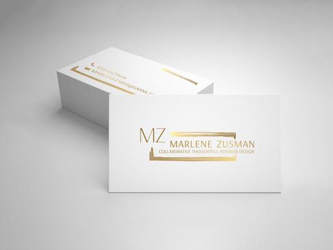 עיצוב לוגו וכרטיס ביקור למעצבת פנים