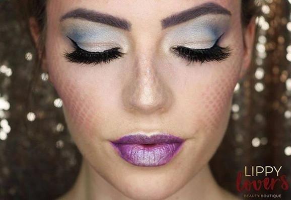 Mermaid _senegenceinternational  Halloween Look ❤️ Products in comments 👇🏻