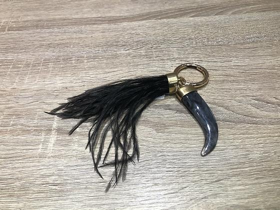 Porte clefs noir