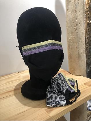 Masque tissu noir 1